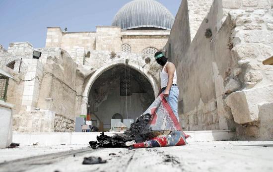 Nouvelles violences sur l'Esplanade des Mosquées