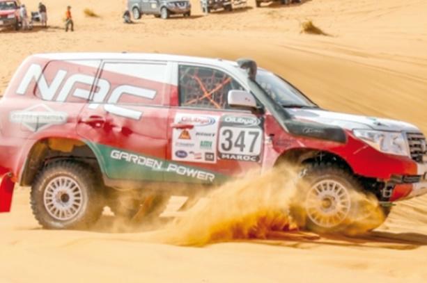 Plus de 1000 participants au rallye du Maroc