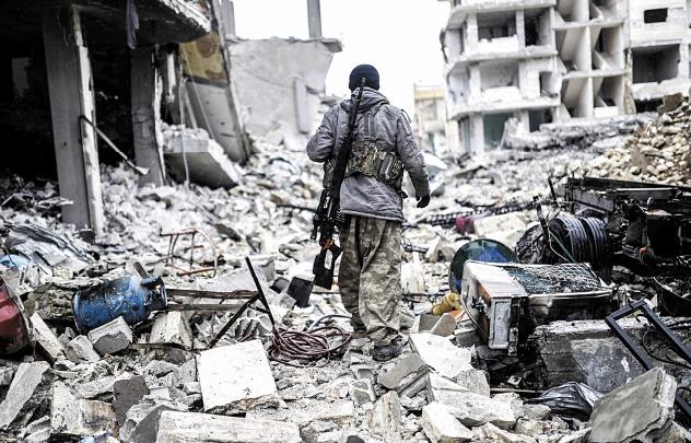 Les puissances derrière Al-Assad