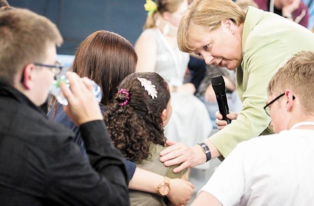 «Mama» Merkel et les réfugiés