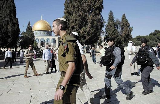 Troisième jour de violence sur l'Esplanade des Mosquées