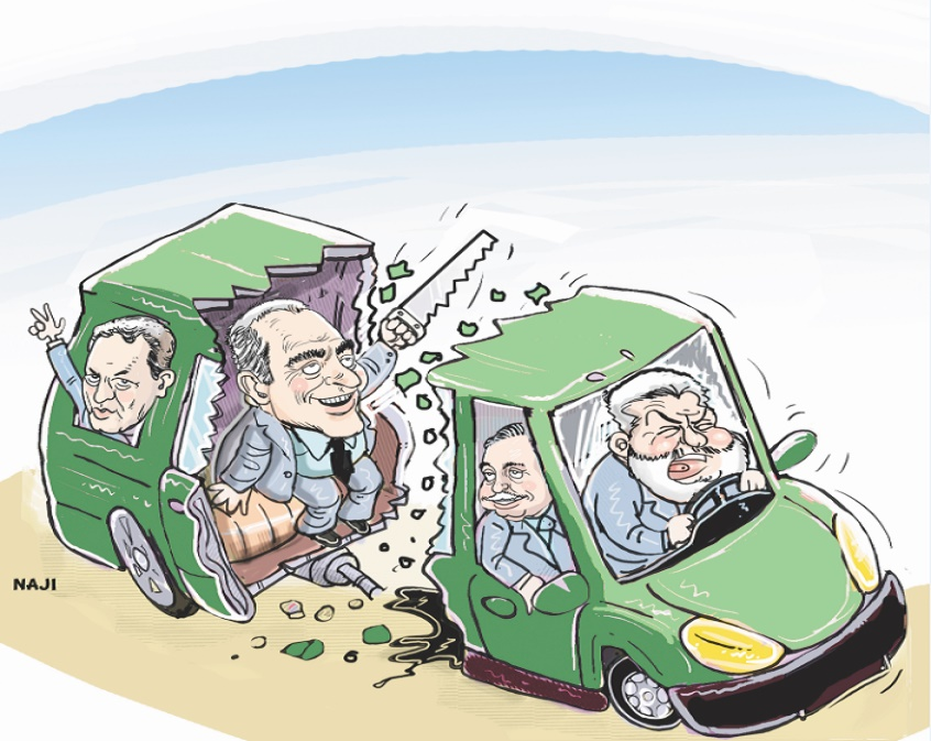 Election des présidents de régions: Que reste-t-il de la majorité ?