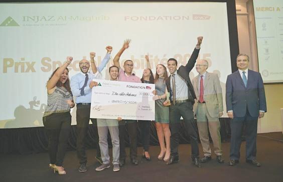 Remise des prix de la Meilleure Junior Entreprise 2015 à Casablanca