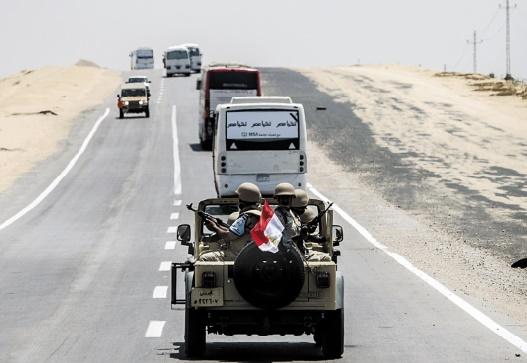 La bévue de l'aviation militaire égyptienne aura coûté la vie à huit touristes mexicains