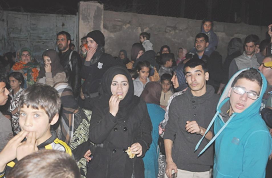 Permettre aux réfugiés syriens de rejoindre l'Espagne en passant par Sebta et Mellilia