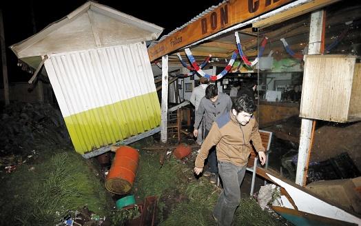 Un séisme de magnitude 8,3 fait cinq morts au Chili