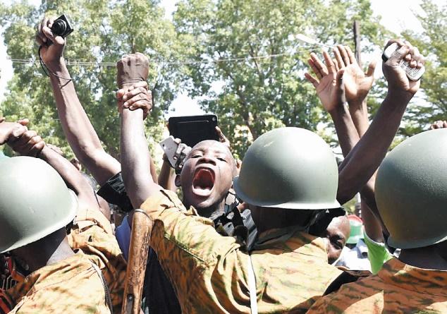 Putsch au Burkina Faso un an après la chute de Blaise Compaoré