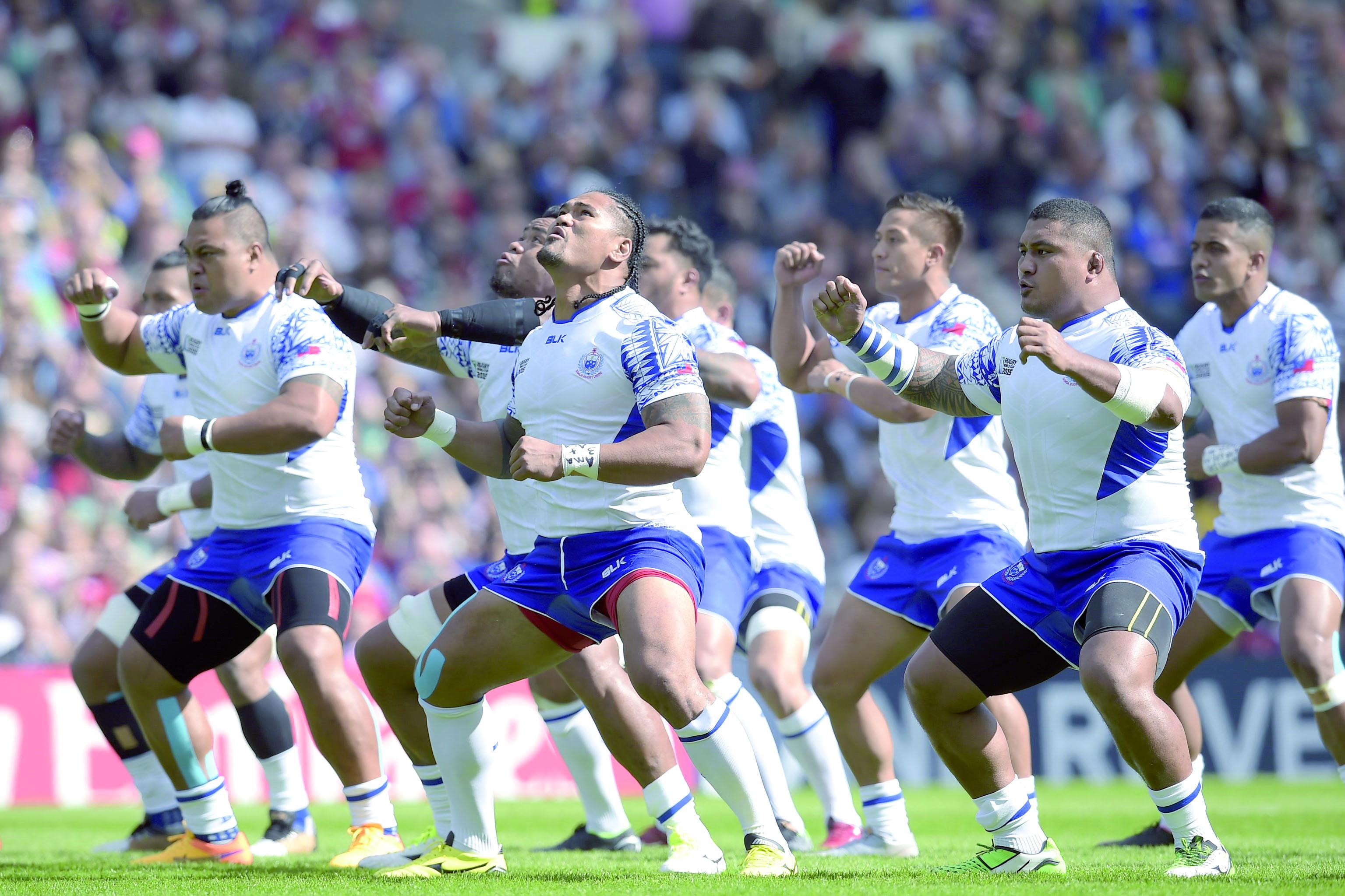 Une ouverture en fanfare du Mondial de rugby