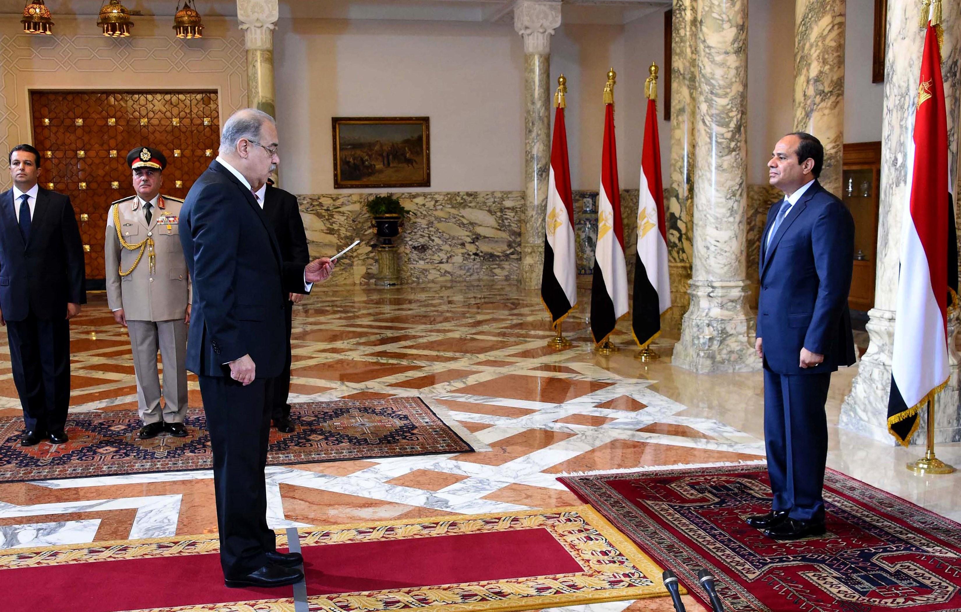 Nouveau gouvernement en Egypte