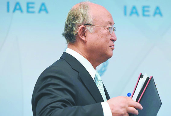 """Le chef de l'AIEA à Téhéran pour des  """"clarifications"""" sur le nucléaire iranien"""