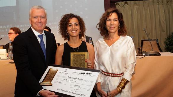 Leila Slimani Première femme lauréate du Prix  littéraire de la  Mamounia