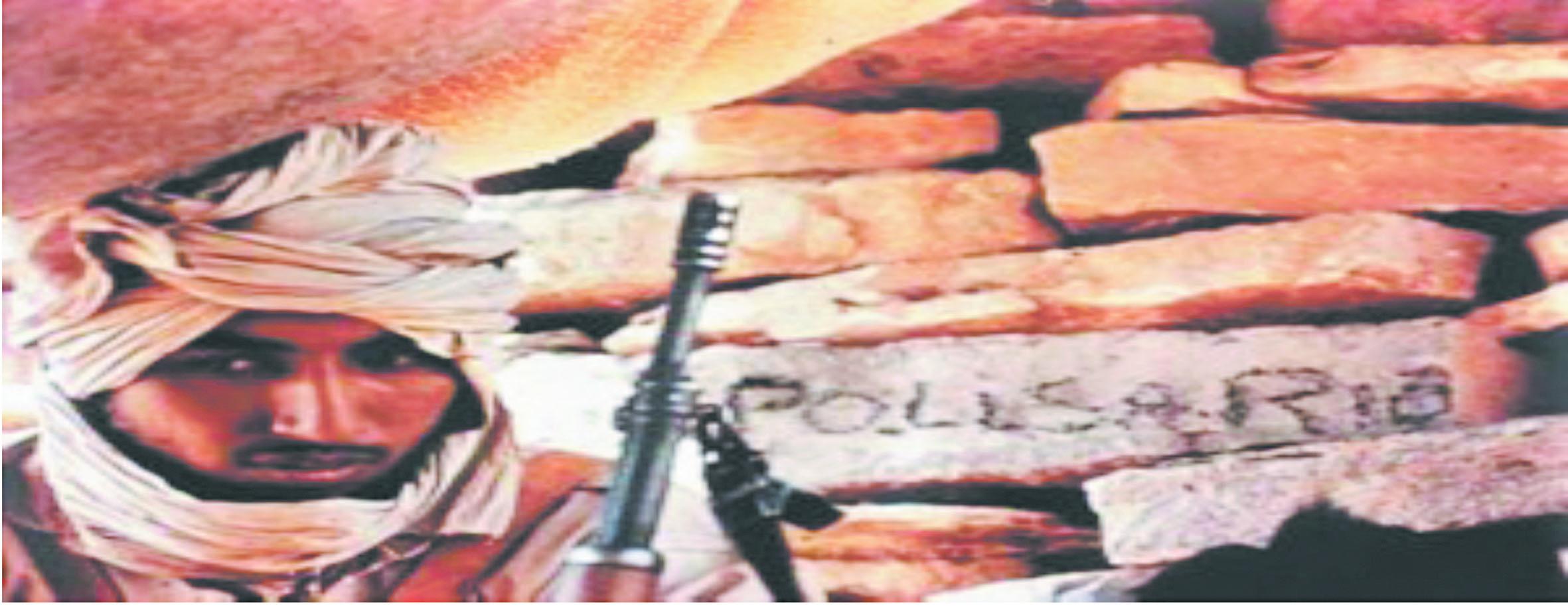 Un poste de la milice du Polisario à Tindouf attaqué par de jeunes Sahraouis