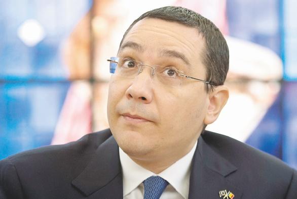 Le Premier ministre roumain sous pression