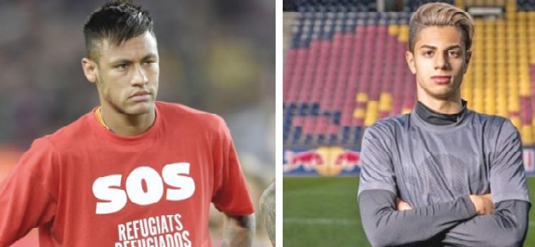 Neymar souhaite la bienvenue à Mastour à la Liga