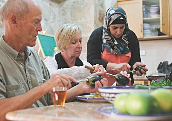 Pour les Palestiniens, cuisiner c'est déjà résister