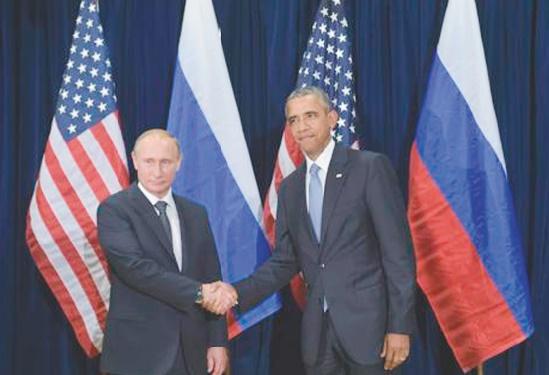 ONU: Obama et Poutine se rencontrent, divergences persistantes sur la Syrie