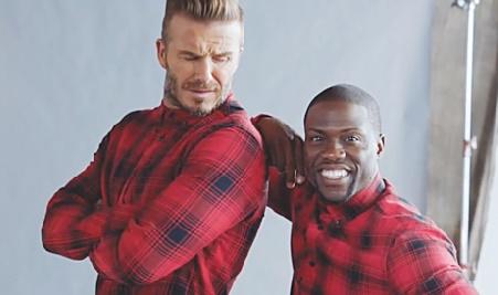 David Beckham, le comédien