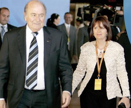 Corinne Blatter défend Joseph Blatter