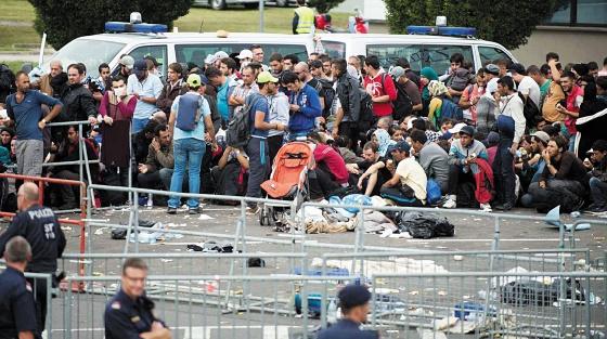 L'Allemagne pourrait accueillir jusqu'à 1,5 million de migrants en 2015
