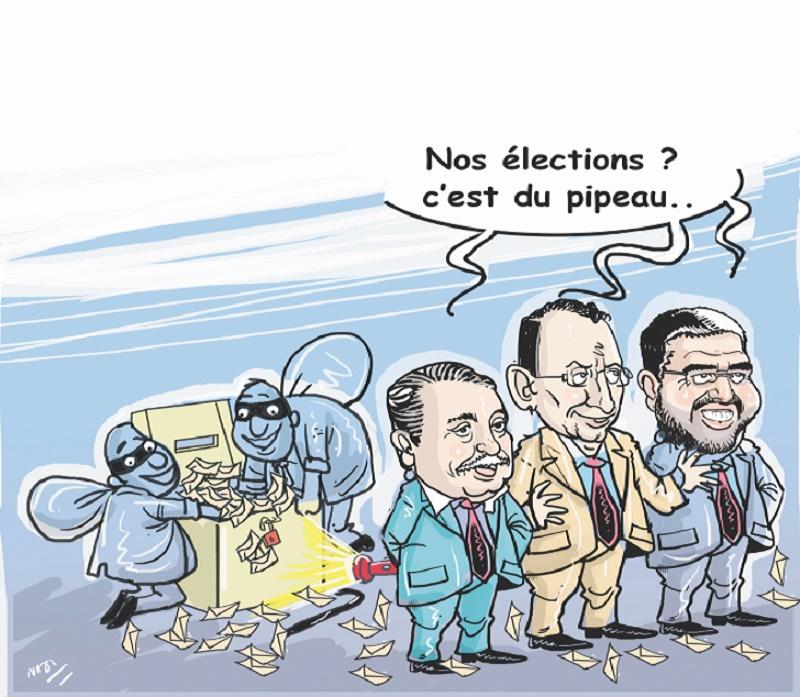 Le gouvernement jette l'opprobre sur ses élections