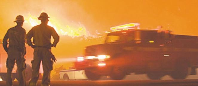 Les grands feux de forêt de plus en plus fréquents avec le réchauffement