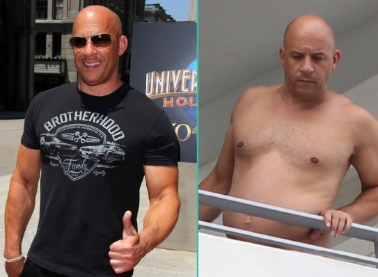 L'impressionnante métamorphose de Vin Diesel