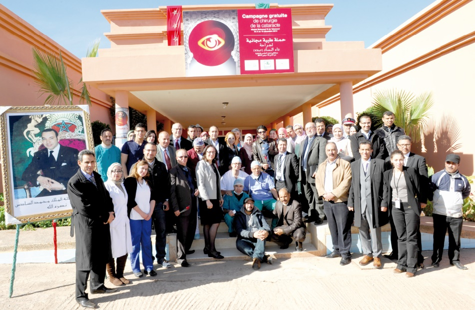 Campagne médico-sociale contre la cataracte à Berkane