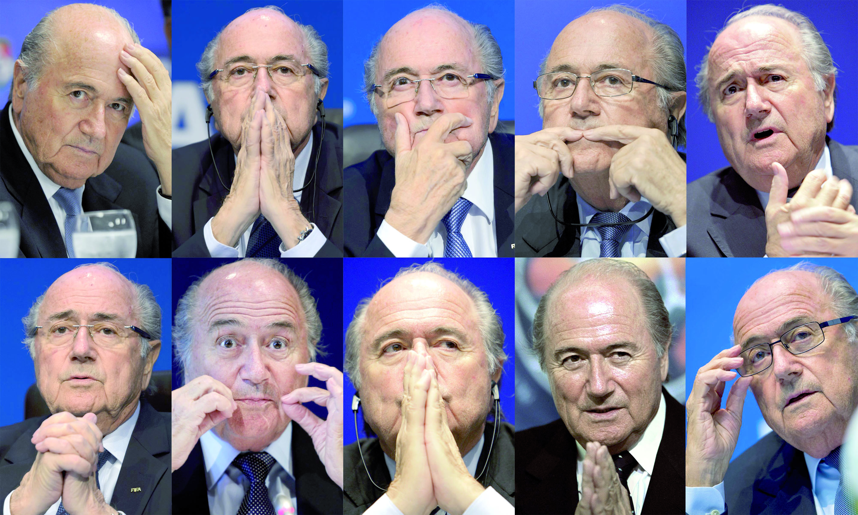Blatter: Je vais bien, je suis un combattant