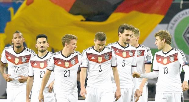 La Mannschaft sommée de régler la mire pour viser le titre continental