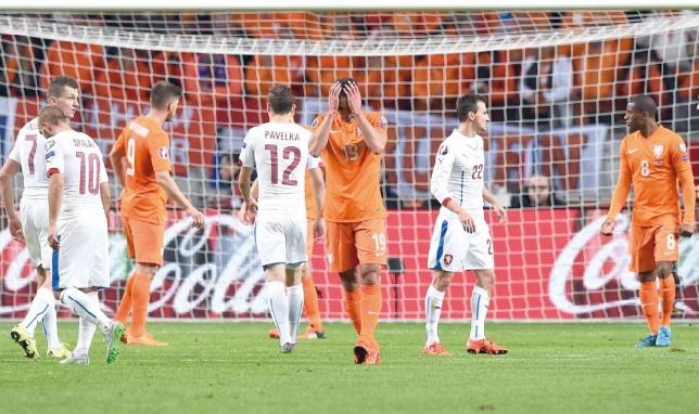 Les Pays-Bas, les absents de marque de l'Euro 2016