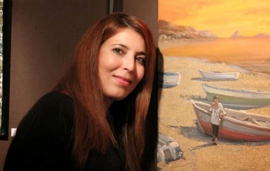 Exposition de l'artiste peintre Rajaa Azaroual à Tolède