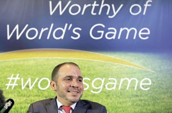 Le Prince Ali dépose officiellement sa candidature à la présidence de la FIFA