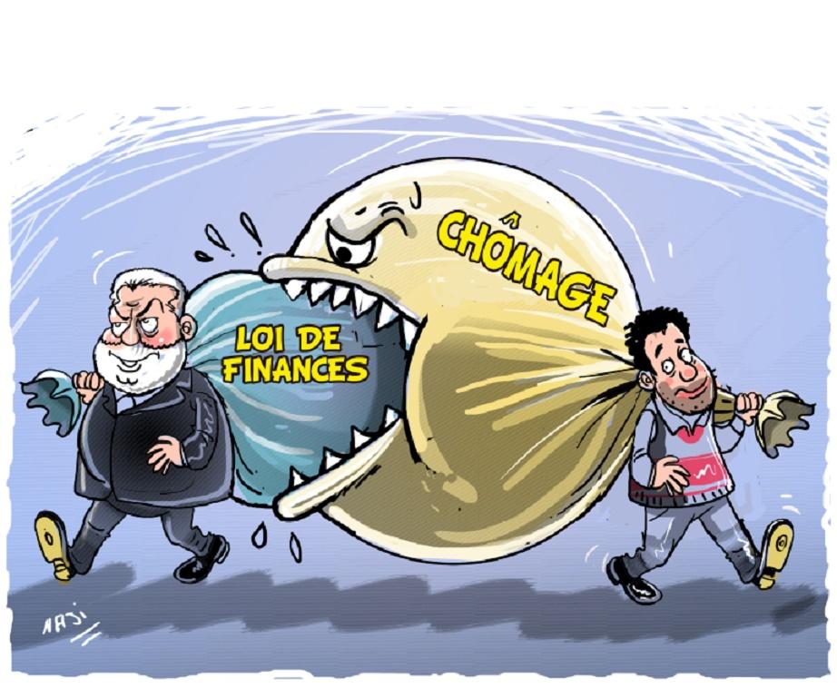 Chômeurs de tout le pays… déchantez !  La loi de Finances 2016 rate le coche