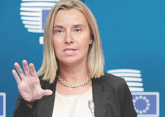 Federica Mogherini : L'UE n'entreprendra aucune action qui affaiblirait le processus onusien du règlement de la question du Sahara