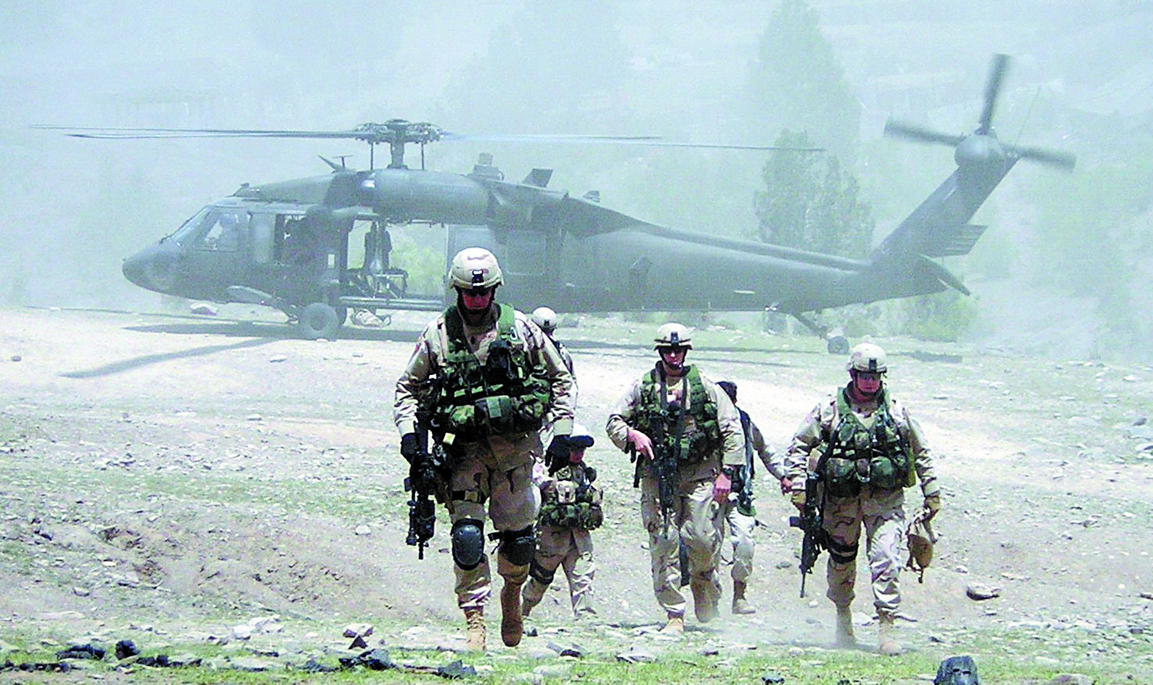 Le maintien de soldats américains, un coup de pouce vital mais  insuffisant