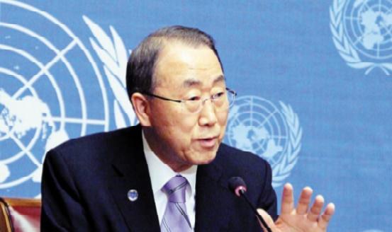 A Al Qods, Ban Ki-moon met en garde Israël contre l'usage excessif de la force