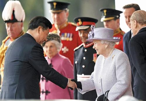 Juteux contrats à la signature au second jour de la visite de Xi Jinping en Grande-Bretagne