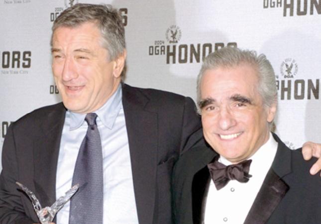 Scorsese a un autre film avec De Niro dans les tuyaux