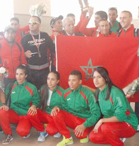 Les cyclistes marocains s'illustrent à Charm El-Cheikh