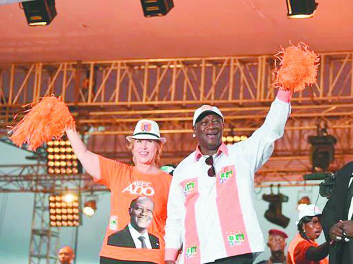Côte d'Ivoire : Ouattara vise une réélection au 1er tour  face à une opposition divisée