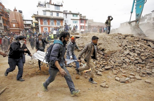Un séisme de 7,5  fait 45 morts en Asie du Sud