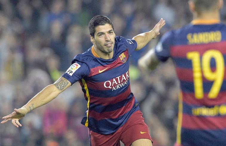 Triple ban de Suarez pour fêter son anniversaire barcelonais