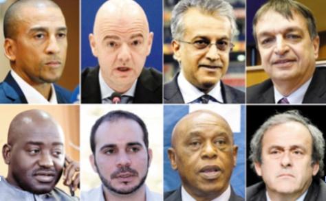 Huit candidats briguent la présidence de la FIFA