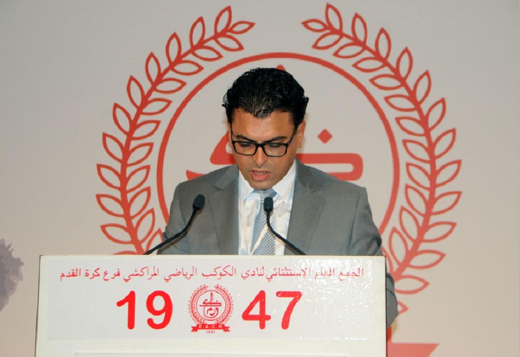 Mouhcine Marbouh, nouveau président du Kawkab