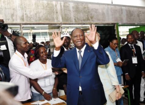 Le super bingo d'Alassane Ouattara