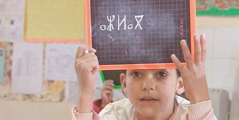 La langue amazighe   Objectifs,  enseignement,  promotion  et mise  en œuvre