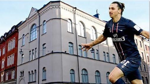 Ibrahimovic s'offre une église