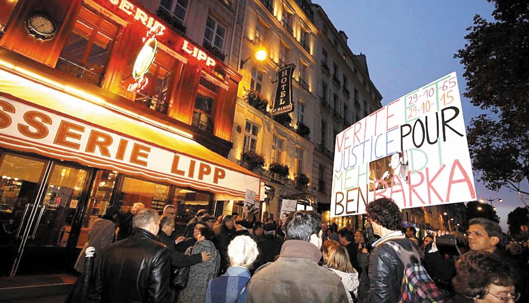 Manifestation à Paris : Ne pas laisser le temps qui passe se transformer en oubli et en résignation