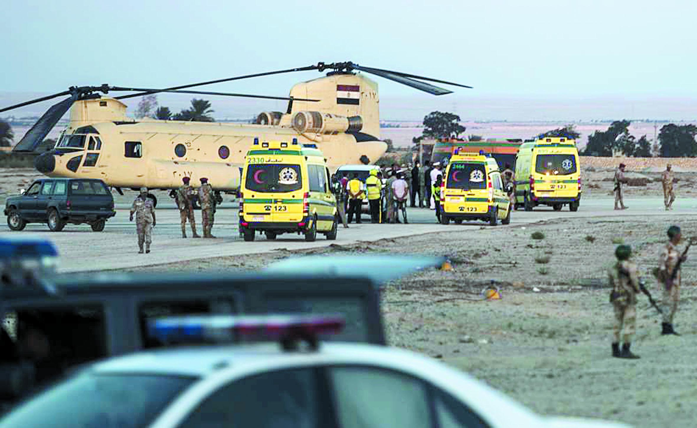 Crash d'Airbus russe au Sinaï : 163 corps retrouvés