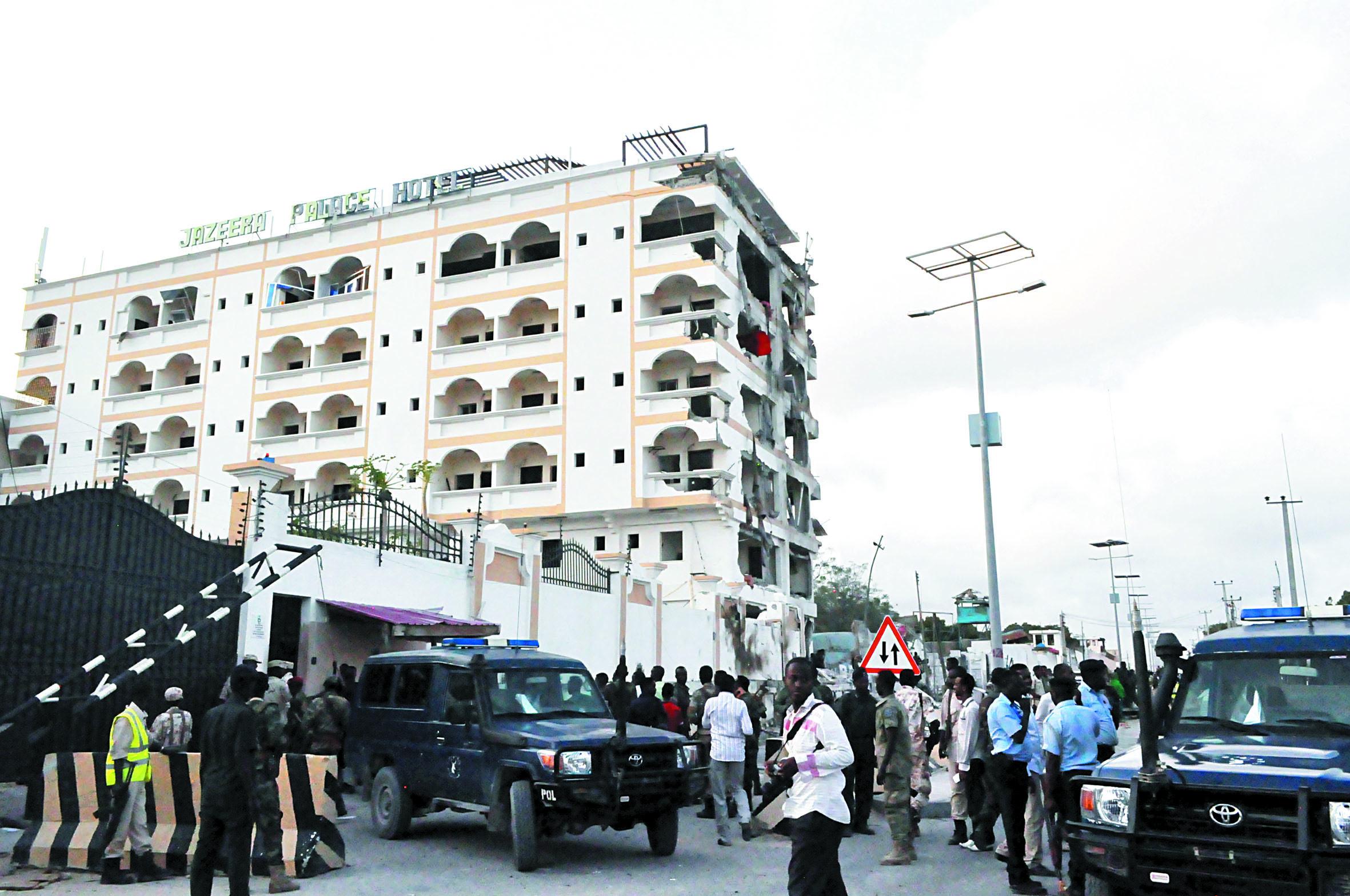 Attaque meurtrière des shebab contre  un hôtel à Mogadiscio